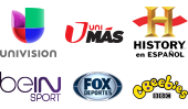 Dish Latino Clasico channel logos